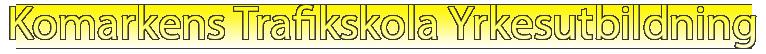 Komarkens Trafikskola Yrkesutbildning